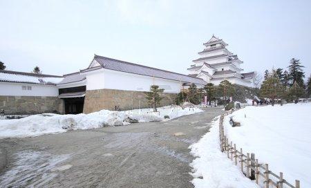 Tsuruga Castle at Japan