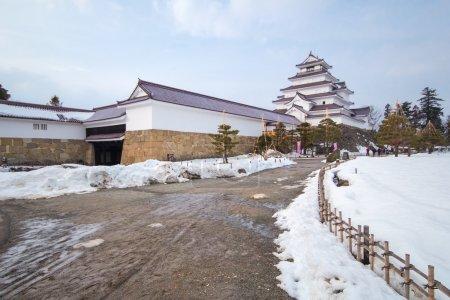 Tsuruga Castle at Fukushima