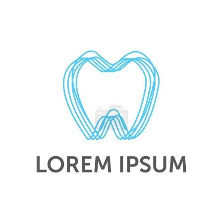 Dentist Dental Dentistry Logo Vector