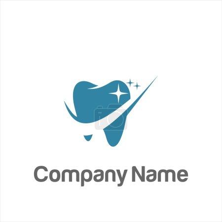 Illustration pour Logo de la dentisterie dentaire vecteur - image libre de droit