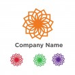 Community bussines abstract logo vector