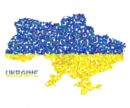Concept map of Ukraine