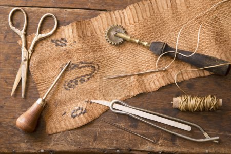 Leather craft tools
