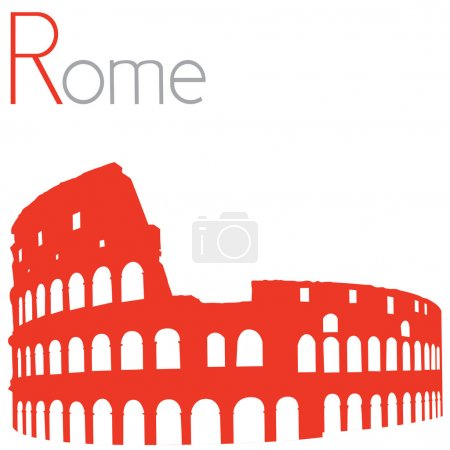 Colosseum, vector illustration