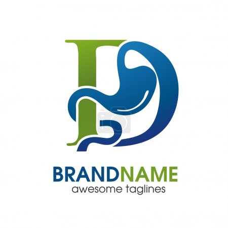 Gastroenterology Health  with letter D Logo