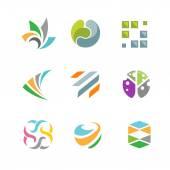 Business Corporate Logo Set