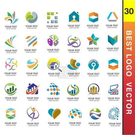 Best Business Corporate 30 Logo Set