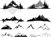 Mountains and Hills Realistic or Stylized