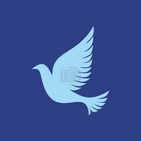 Christian symbols. Dove. Holy Spirit.