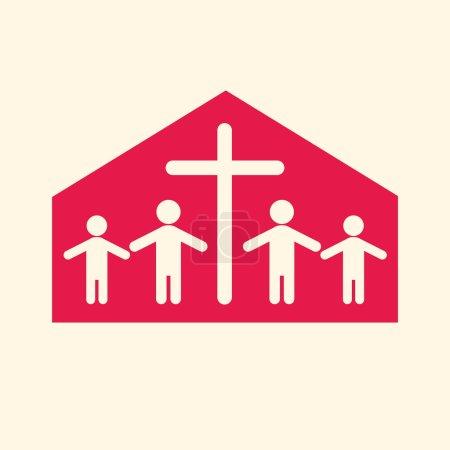 Church family icon