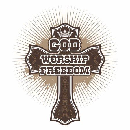 Cross. God. Worship. Freedom...