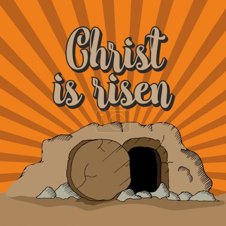 Christ is risen. The empty tomb