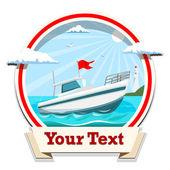 Boat vector illustration