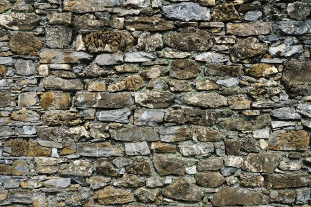 background old stone wall