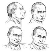 Ilustrace prezident Vladimir Putin