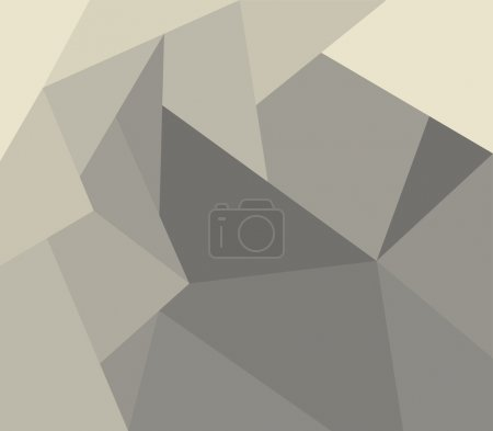 abstract background in low poly