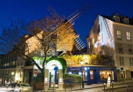 The famous restaurant Le moulin