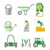 farmer set of gardner equipment