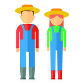 Farmers color icon