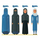 arabian woman headscarf