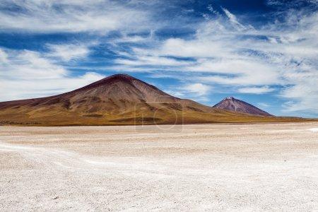 Photo pour Montagnes de l'Altiplano bolivien : 2013 - image libre de droit