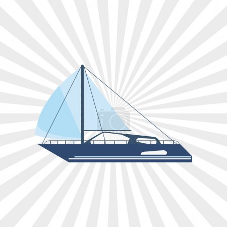 Transportation concept with icon design, vector il...