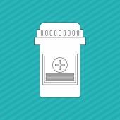 Medicína ikony designu