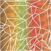Flat design geometric background patterns icon vector illustration
