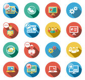 Business and Startup Flat Icons Set