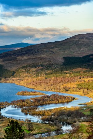 Loch Tay and river Dochart
