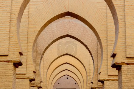 Interior of the Tinmal Mosque