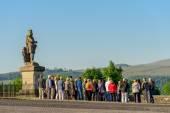 Tour group Stirling Castle