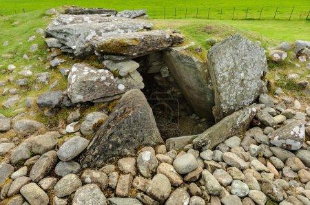 Burial chamber at Kilmartin Glen