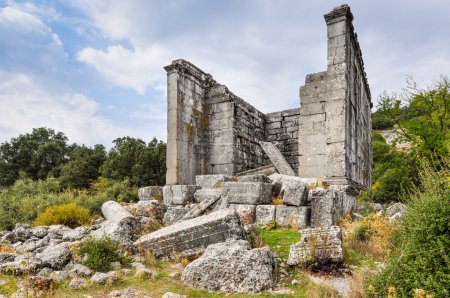 Ancient ruined city of Adada