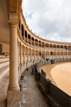 The bullring in Ronda, Spain