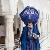 Sikh pilgrim at Golden Temple