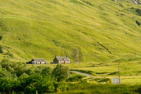 A remote cottage in Glen Lyon