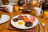 Cooked Scottish breakfast