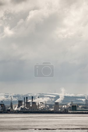 Grangemouth refinery in Scotland