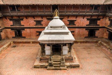 Inner courtyard of Patan Museum