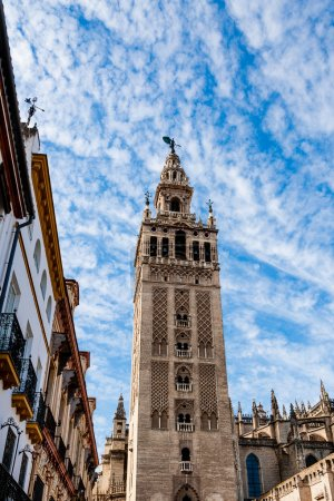 Bell tower in Cathedral of Seville