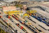Commercial port of Barcelon