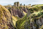 The ruins of Dunottar Castle