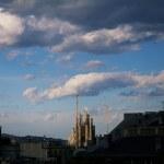 BARCELONA, SPAIN - APRIL 20, 2013: La Sagrada Fami...
