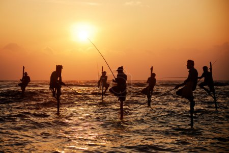 The traditional fishermen