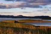 lake region myvatn in Iceland