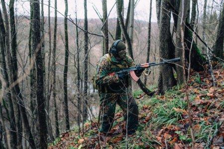 Russian spetsnaz soldier.