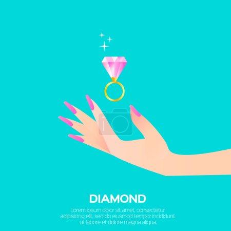 Big shining diamond