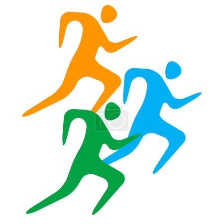 Running man.Sport.