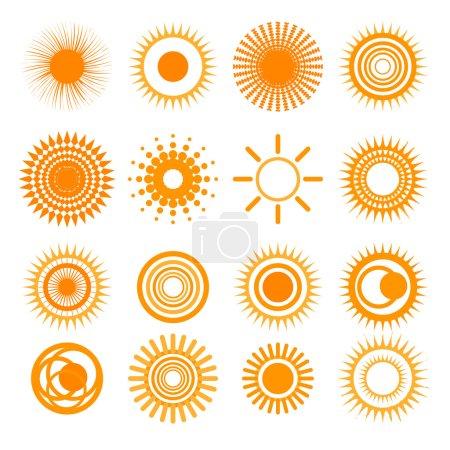 Orange Sun collection